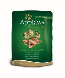 Applaws Cat Pouch Chicken & Aspergus 12 x 70 gr