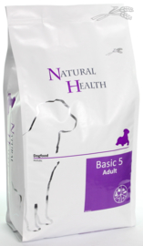 Natural Health hondenvoer Basic Five Adult 3 kg