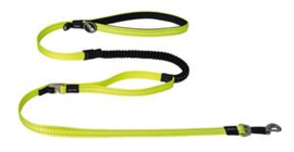 Snake Control Lead Yellow  Maat:	16 mm. x 140 cm.