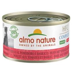 Almo Nature Dog HFC Complete Kip Tomaat Amarant Basilicum 24 x 95 gr
