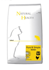 Natural Health Kattenvoer Senior 2.5 KG