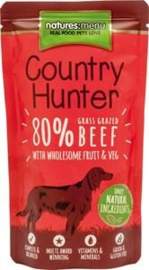 Natures Menu Dog Country Hunter Pouch Beef 1 x 150 gr