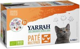 Yarrah Kat Alu MP Pate Mix 8x100 gr