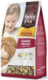 Hobbyfirst Hope Farms Rabbit Muesli - Konijnenvoer 3 x 2.5 kg