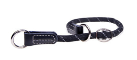 ROGZ ROPE OBEDIENCE BLACK LARGE - 45-55 CM / 12 MM.