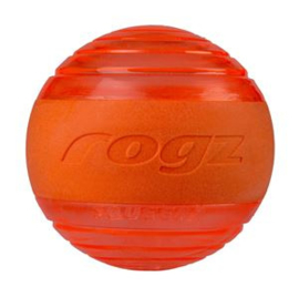 Rogz Squeekz Orange Medium 6.4 cm