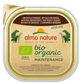 Almo Nature Daily Bio Dog Veal+Vegetables 9 x 300 gr