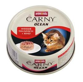 Carny Ocean Witte Tonijn/Rund 12 x 80 gr
