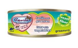 Renske Kat Blik Vezel Tonijn met groenten 24 x 70 gr