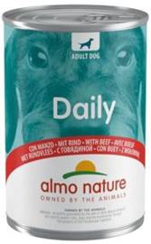 Almo Nature Dog Blik Rund 24 x 400 gr