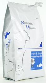 Natural Health Dog Fish & Rice Puppy Large Bite 2.5 kg