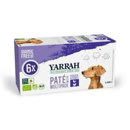 Yarrah Hond Alu MP Pate Kip&Kalkoen 4 x 6x150 gr