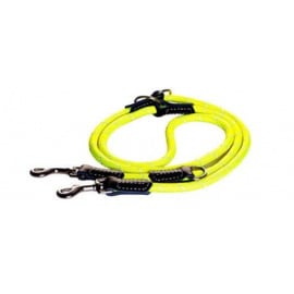 ROGZ ROPE LIJN MULTI YELLOW LARGE - 200 CM / 12 MM.