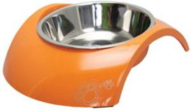 Rogz Bowlz Luna Medium Orange  Inhoud: 350ml