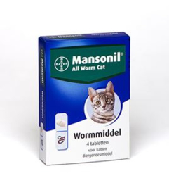 Mansonil All Worm Cat 4 tab