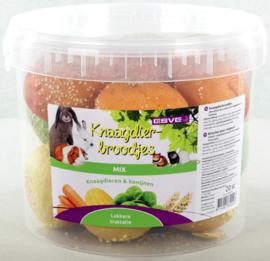 Knaagdierbroodjes Mix-Bo s 20stuks