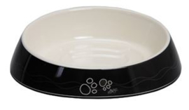 Rogz Bowlz Fishcake Black Paws