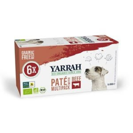 Yarrah Hond Alu MP Pate Rund&Kip 4 x 6x150 gr
