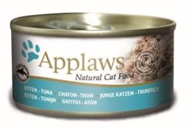 Applaws Blik Cat Kitten Tuna  24 x 70 gr