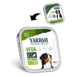 YARRAH - VEGETARISCHE BROKJES MET GROENTE EN ROZENBOTTEL 150 GR GROENTEN ADULT (per 12 st)