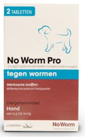 No Worm Pro Small&Puppy  2 tab