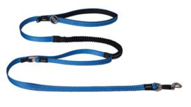 Snake Control Lead Blue  Maat:	16 mm. x 140 cm.