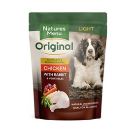 Natures Menu Dog Pouch Light - 300 gr. (8 verp.)