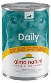 Almo Nature Dog Blik Kip 24 x 400 gr
