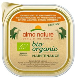Almo Nature Daily Bio Dog Chicken+Patatoes 9 x 300 gr