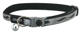 Rogz NightCat Black Paws - 11mm - 20-31 cm