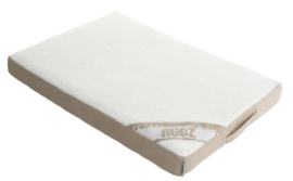 ROGZ LOUNGE POD FLAT STONE/CREAM - SMALL