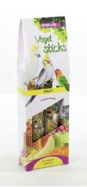 Vogelsticks Agap/gropar Fruit  2 st