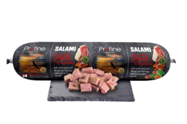 Profine Grain Free Salami worst Duck & Vegetables 800 gram