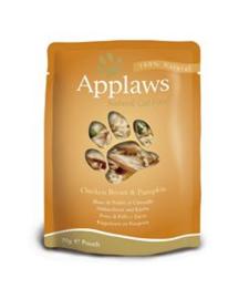 Applaws Cat Pouch Chicken & Pumpkin 12 x 70 gr