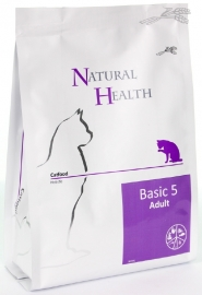 Natural Health kattenvoer Adult Basic 5 2,5 kg