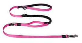 Snake Control Lead Pink  Maat:	16 mm. x 140 cm.