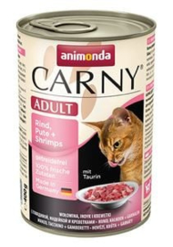 Carny Rund/Kalkoen/Garnaal 6 x 400 gr