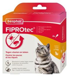 beaphar FiproTec Cat 3+1 Pipet