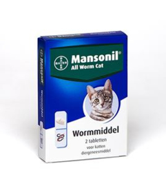 Mansonil All Worm Cat 2 tab