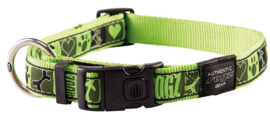 ROGZ ARMED RESPONSE HALSBAND LIME JUICE XL - 25MM