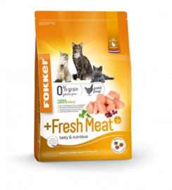 Fokker Cat Fresh Meat - 2,5 kg.