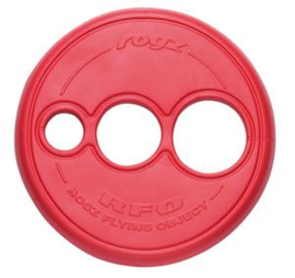 ROGZ FLYING OBJECT RED - 23 CM ROND/ 4 CM DIK
