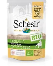 Schesir Dog Bio Chicken 16 x 85 gr