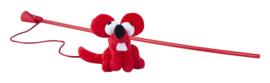 Rogz Catnip Mouse Magic Stick Red