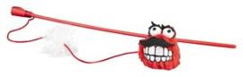 Rogz Catnip Fluffy Magic Stick Red