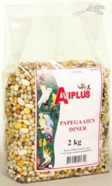 AVIPLUS PAPEGAAIENDINER - 2 KG