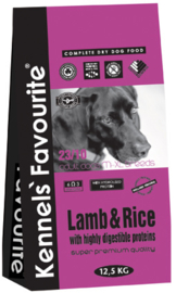 Kennels Favourite Lamb&Rice - 12,5 kg.