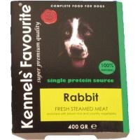 Kennels Favourite Steamed 10 x 395 gr - Rabbit