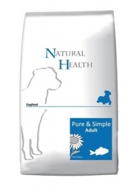 Natural Health hondenvoer Adult Vis 12,5 kg
