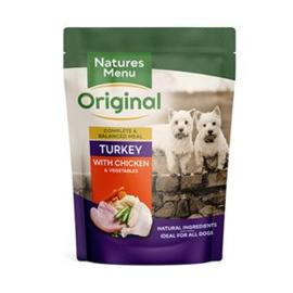 Natures Menu Dog Pouch Chicken & Turkey - 300 gr